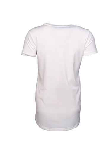 Hummel Kadın Tişört Breezy 910959-9003 Beyaz